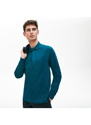 Lacoste Erkek Regular Fit Sweatshirt PH2481.Z3T Mavi